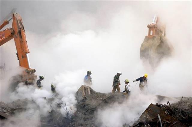 Smoldering Ruins From 9/11